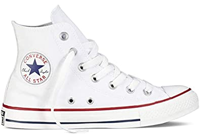 4134af01a9a7 Image Unavailable. Image not available for. Color  Converse Chuck Taylor  All Star Hi - Optic White ...