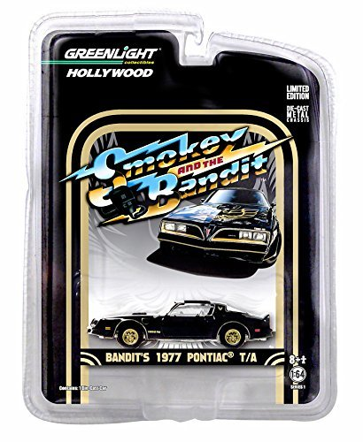 (Greenlight 1:64 Hollywood Series Smokey and the Bandit 1977 Pontiac Trans Am Diecast Car)
