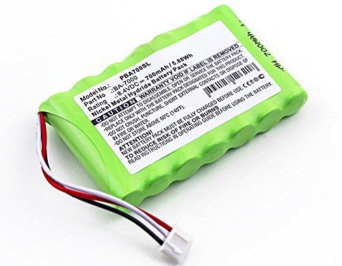 subtel® Batteria Premium per Brother P-Touch 7600VP, Brother PT 7600VP (700mAh) BA-7000, BA7000 Batteria di Ricambio, accu Sostituzione, sostituto
