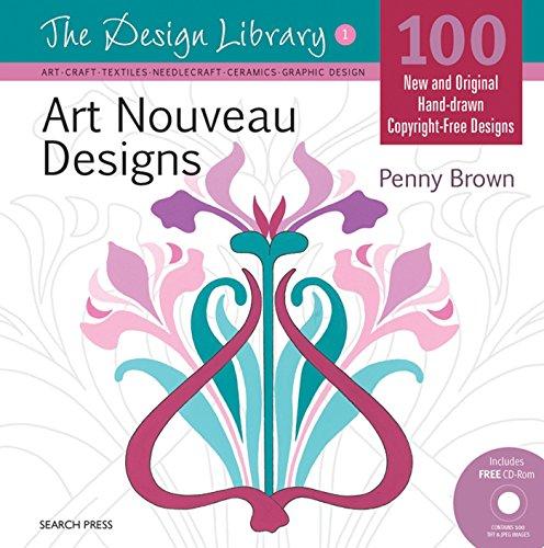 Art Nouveau Designs (Design Library)
