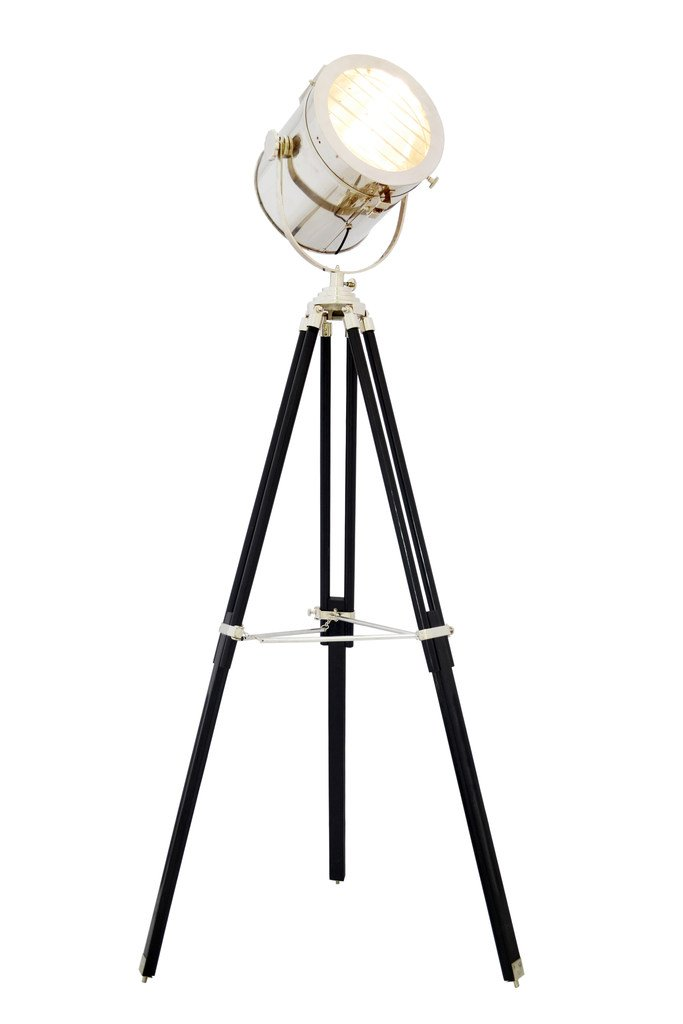 Brass Nautical Large Spotlight vintage floor lamps Replica