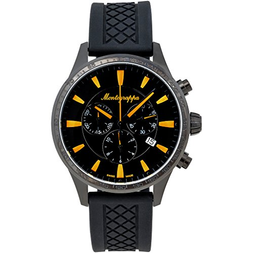 Montegrappa Fortuna Chronograph Sport Watch Men's Watch Swiss Made IDFOWCSY