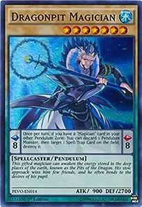 Dragonpulse Magician PEVO-EN013 Super Rare Yu-Gi-Oh Card 1st Edition New