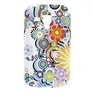 conseguir Flor Patrón Soft Case para Samsung Galaxy Tendencia Duos S7562