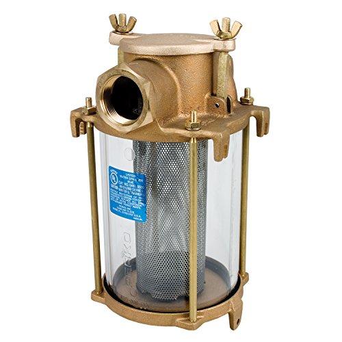 (Perko 3004.4565 0493DP799R Intake Water Strainer Spare Gasket Kit, Rubber-1