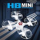 Leewa JJR/C H8 Mini 2.4G 4CH 6 Axis RTF RC Quadcopter Led Night Lights CF Mode -White
