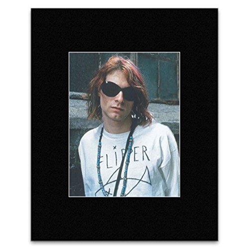 Kurt Cobain - Sun Glasses Mini Poster - - Kurt Cobain Sunglasses With