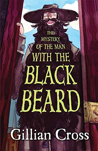 book cover of The Mystery of the Man with the Black Beard
