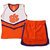 Wes and Willy Girls and Toddlers NCAA Cheer Set