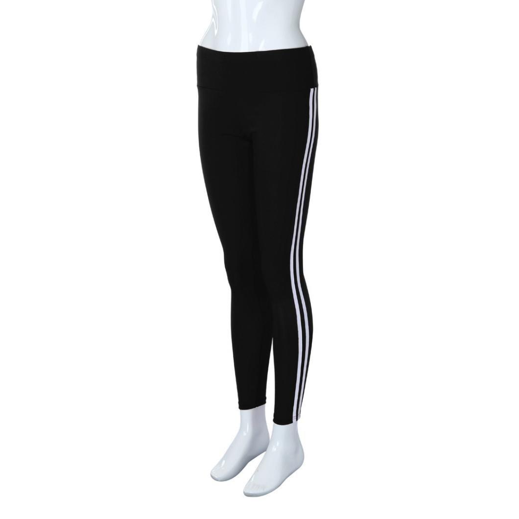 LMMVP Pantalón Deportivo de Mujer, Malla para Running, Yoga y Ejercicio.Pantalones de Correr de Yoga para Mujeres Pantalones de Tiro de Cintura Alta ...