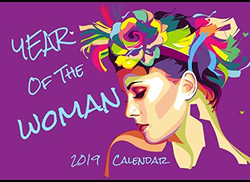 Year Of The Woman: 2019 Calendar Planner Purple