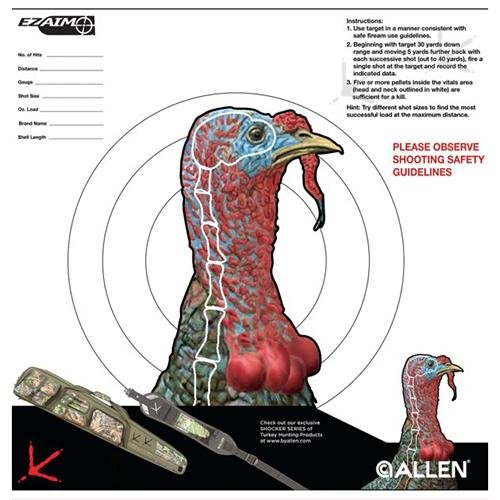 Allen Turkey Sight-in Target
