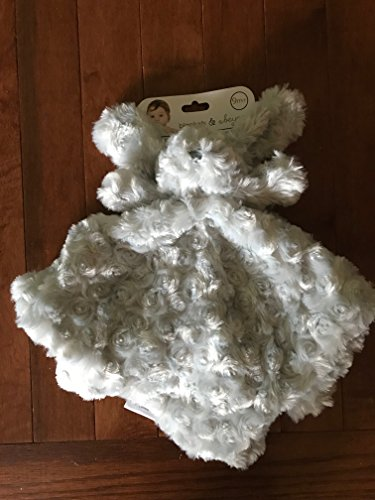 Mantas & ~ Beyond Adorable Nunu Gris oso de peluche super suave bebé edredón Snuggle manta suave juguete 9 m +: Amazon.es: Bebé
