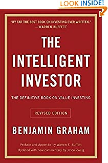 Benjamin Graham (Author), Jason Zweig (Author), Warren E. Buffett (Collaborator) (1545)  Buy new: $22.99$13.76 275 used & newfrom$7.15