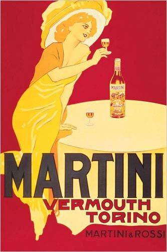 Martini & Rossi - Martini Vermouth Torino, Poster Print