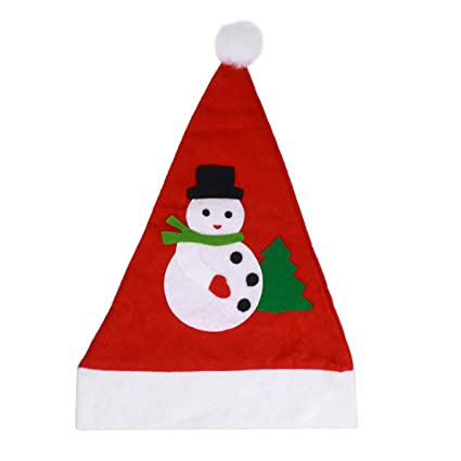 c4bef789df673 Image Unavailable. Image not available for. Color  BESTOYARD 12Pcs Santa Hat  ...