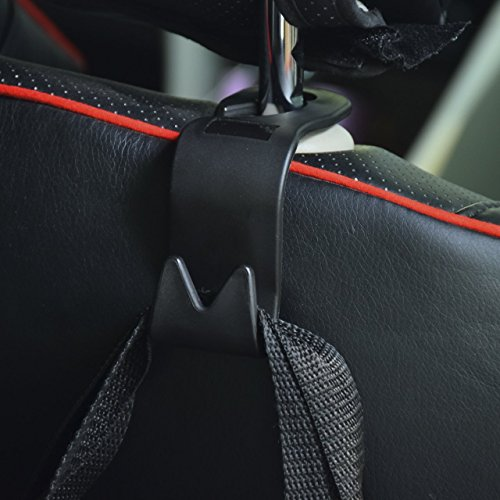 TOCGAMT Car Seat Back Headrest Hooks Hanger Storage Organizer Holder Hold Up To 40