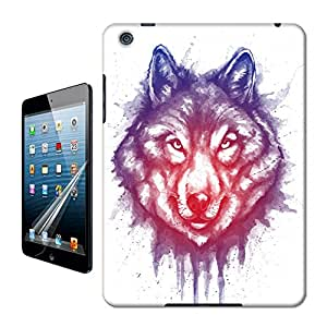 WBOX DIY Newest shading of wolf Hard Cover Case Fit for Apple iPad mini