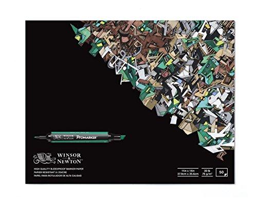 Winsor & Newton BleedProof Marker Paper Pad, 11' x 14'