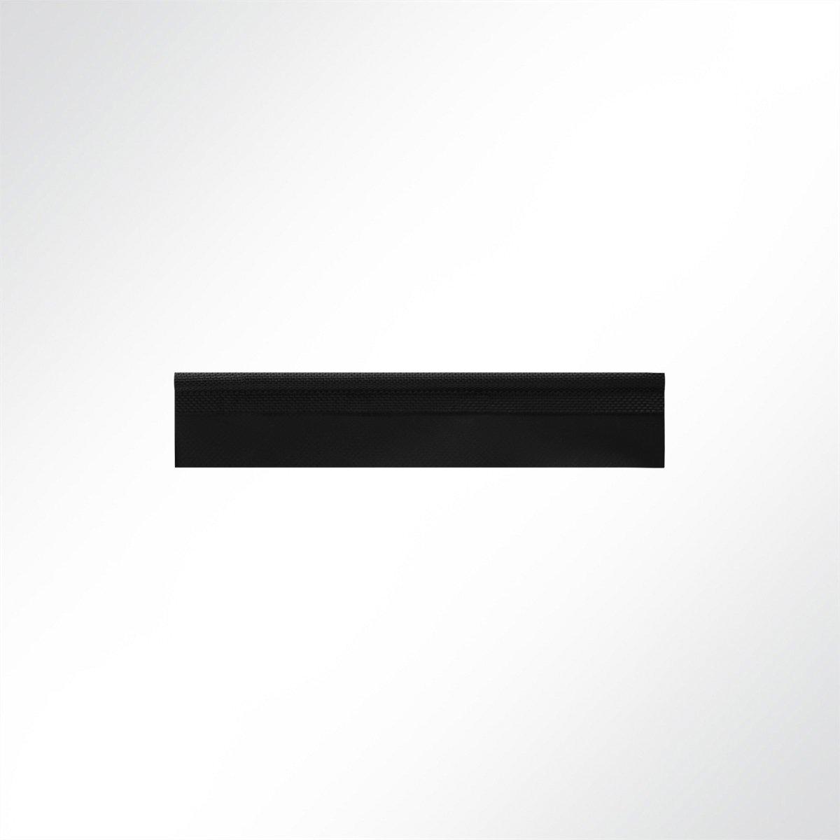 LYSEL Zeltkeder Kederband Einzugskeder einfahnig Schwarz D 7,50 mm Meterware