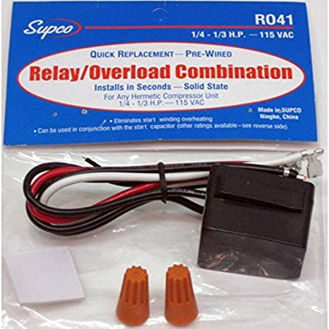 51HM0RjGarL._SX466_ amazon com r041 refrigerator relay and overload combination for 1 supco rco410 wiring diagram at panicattacktreatment.co