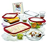 Anchor Hocking 32-Piece Ovenware Set with TrueFit TM See-Thru Lid