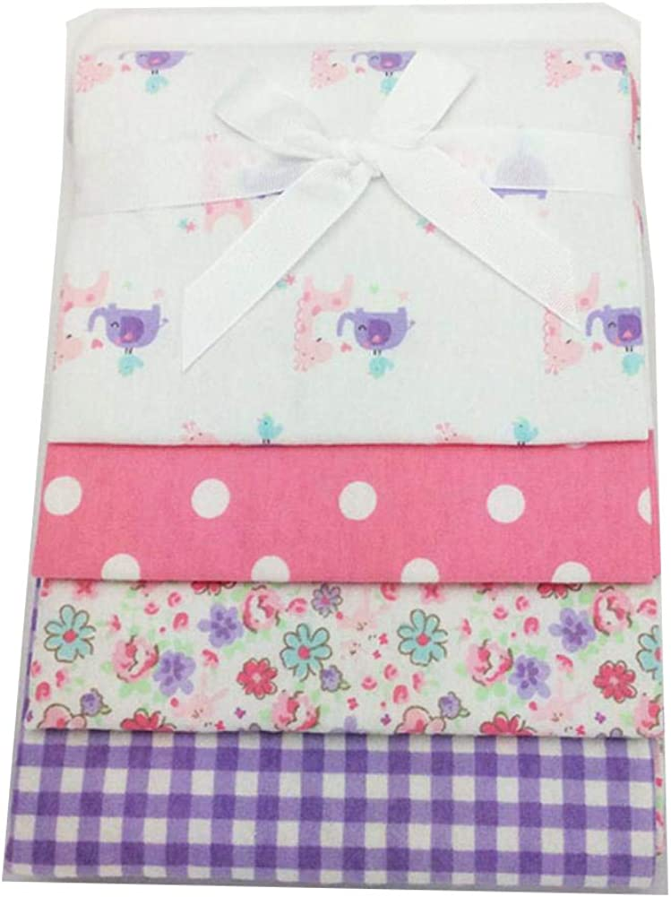 Bright Color Newborn Baby Cotton Crib Sheet