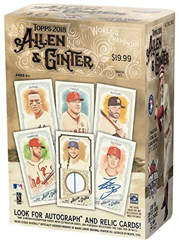 Topps 2018 Allen & Ginter Baseball Mass Value Box ()