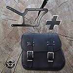 Zeus-black-side-bag-and-holder-XL-up-to-2017-from-Orletanos-compatible-with-Harley-Davidson-Softail-Fatboy-Heritage-side-pocket-HD-saddle-bag-bag-side-case