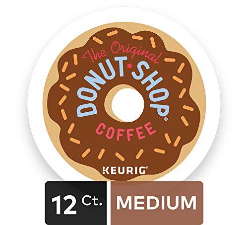 Large Product Image of The Original Donut Shop Regular Keurig Single-Serve K-Cup Pods, Medium Roast Coffee, 72 Count (6 Boxes of 12 Pods)