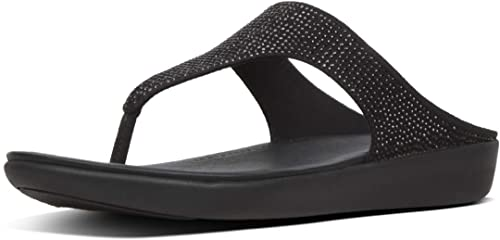 ce8376c6d537 Fitflop Women s Banda Crystalled Open Toe Sandals  Amazon.co.uk ...