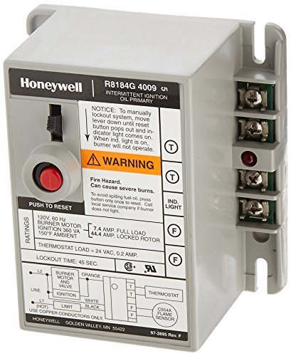 (Honeywell R8184G4009 International Oil Burner Control)