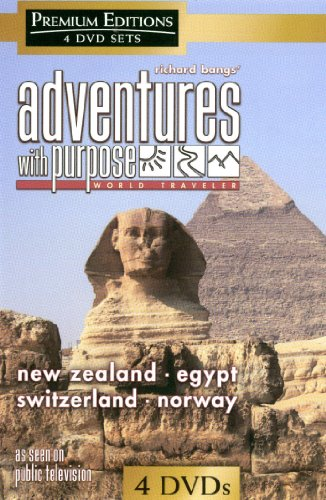 Richard Bang's Adventure With a Purpose: Four-Disc Combo (New Zealand / Egypt / Switzerland / Norway)
