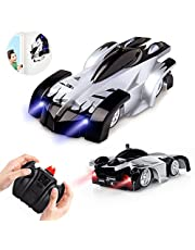 Epoch Air Rc Cars For Kids Remote Control Car Toys Wall Climbing Dual Mode 360°Rotating Stunt Rechargeable High Speed Vehicle With Led Lights