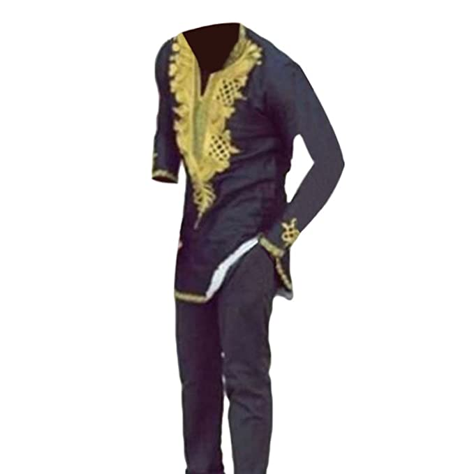 Hzjundasi Hombre Africano Tradicional Festival Vestidos ...