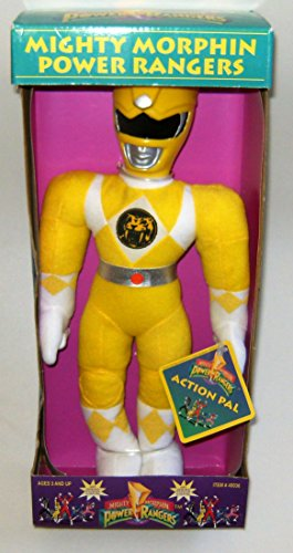 Power Rangers Plush 12 Inch Yellow Trini Action Pal Figure