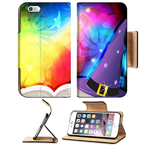 [Liili Premium Apple iPhone 6 Plus iPhone 6S Plus Aluminum Snap Case Witch hat and spell book on an abstract fairytale background IMAGE ID] (Glamour Witch)