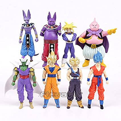Amazon.com: Dragon Ball Z Super Saiyan Goku Trunks Champa ...