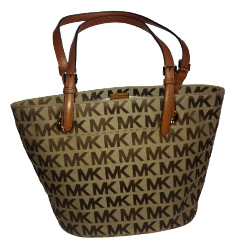 Michael Kors Jet Set Md Tote Signature Jacquard - Official Kors Michael Online The Store And Site