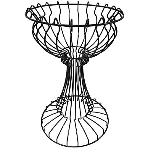 AWP CA-Plant Stand Wire Plant Stand, Black Powdercoat, Steel