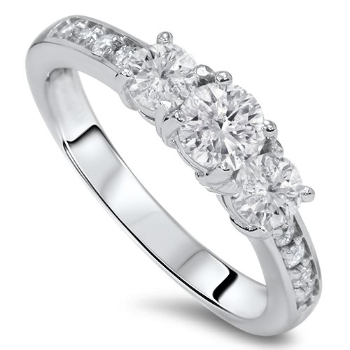 one carat diamond ring - 3