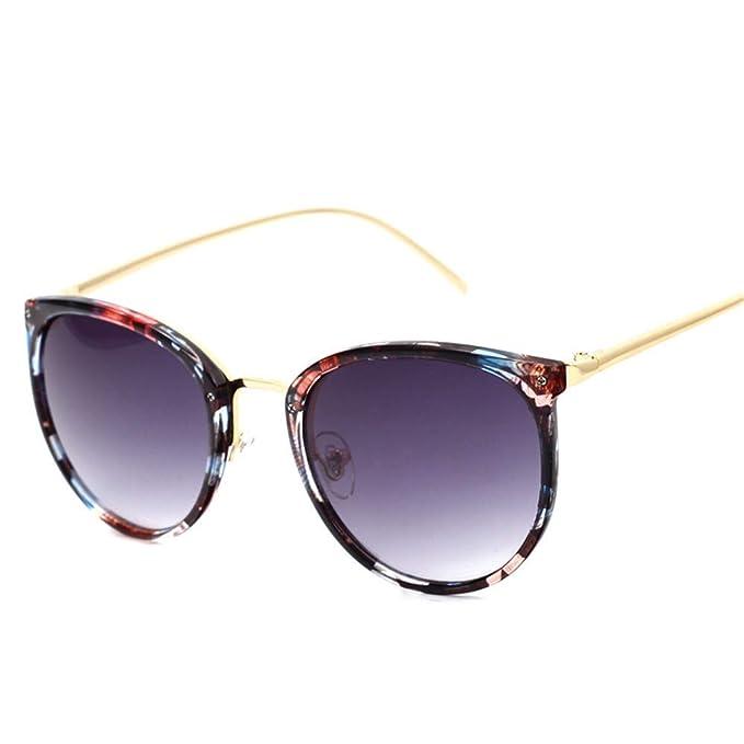 SenDi Gafas de sol - Gafas de sol metálicas silvestres gran ...