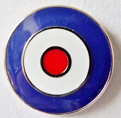 MOD Target Enamel and Metal Pin Badge