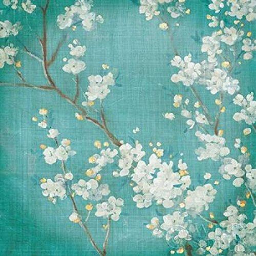 White Cherry Blossoms II Poster Print by Danhui Nai