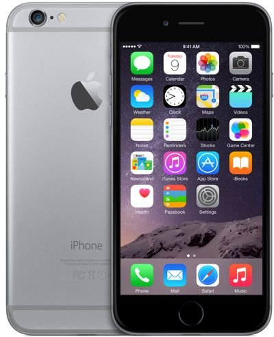Apple iPhone 6 16 GB Unlocked (Space Gray)
