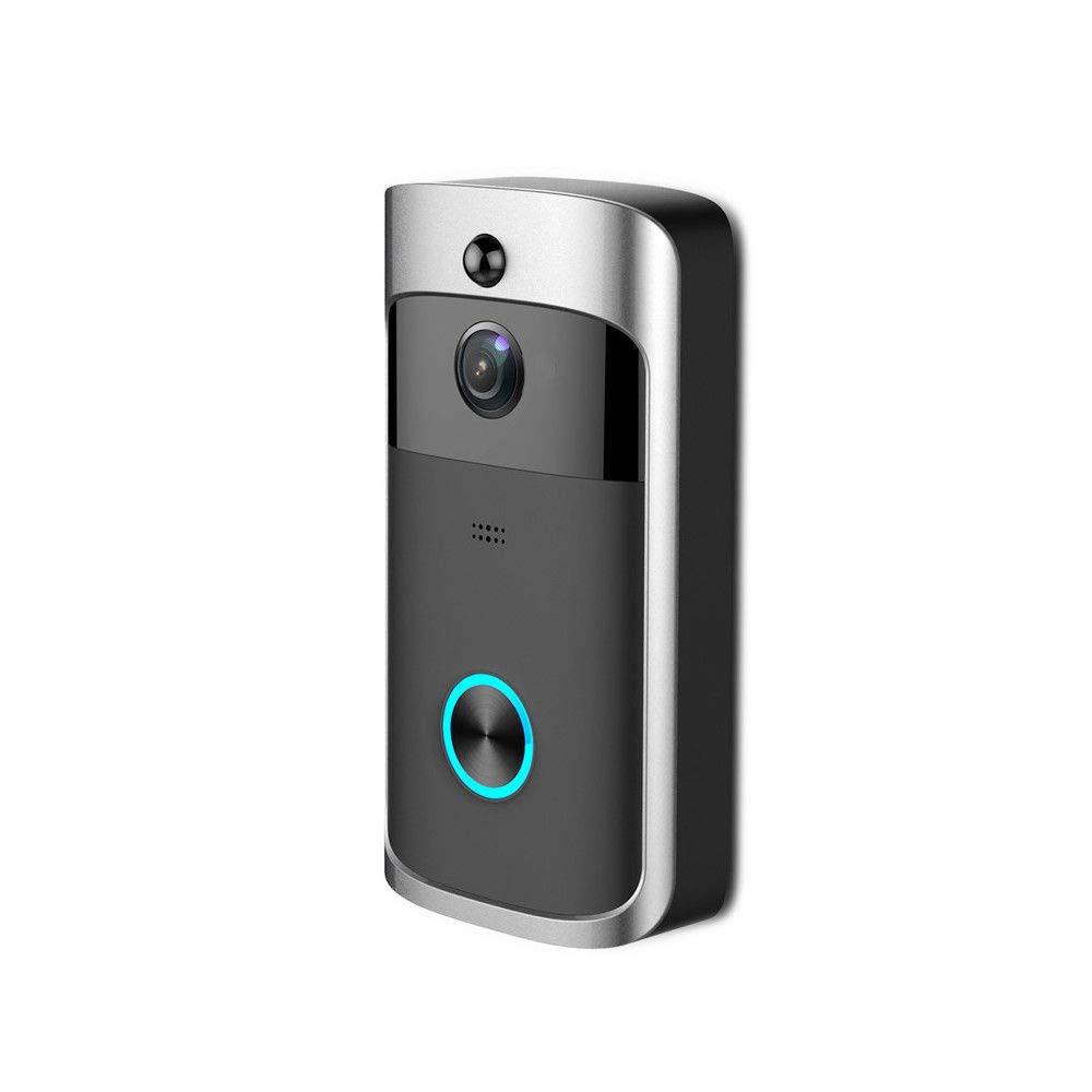 Klicop Wi-Fi aktiviert Video Türklingel, 720p Full HD-Kamera, arbeitet mit Alexa Heimzubehör
