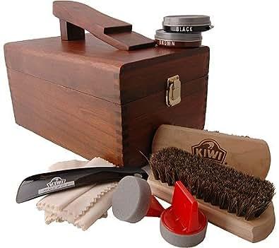 Kiwi Select Shoe Care Valet,One Kit