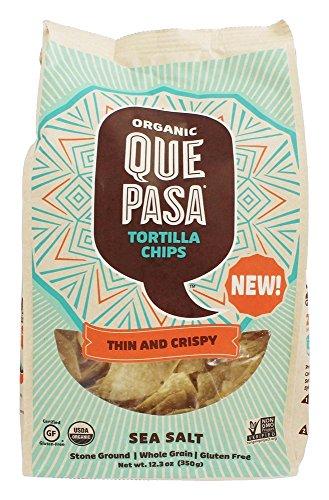 Que Pasa Chips Tortilla Sea Salt, 12.3 oz