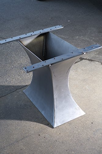 Concave Metal Table Base (add your own top)
