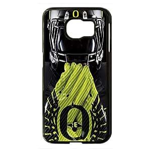 NCAA Oregon Ducks Black Phone Case for Samsung S6